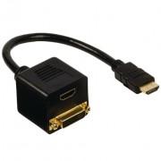 Adapter HDMIm na HDMIž DVIž