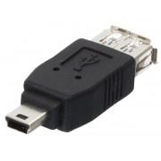 Adapter USB A Ž - USB mini m