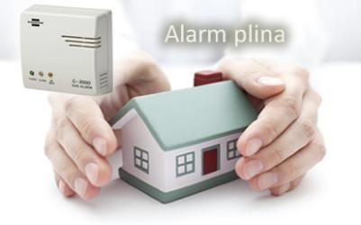 Alarm plina 220/12V