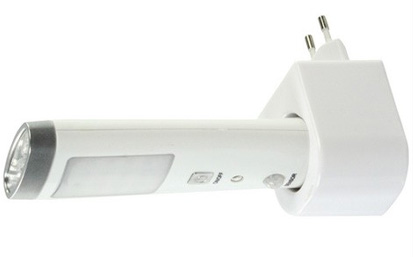 Baterijska lampa na 230V+noćni senzor